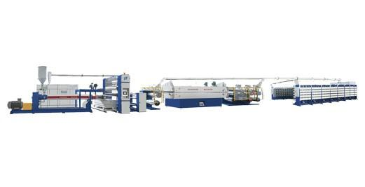 SJPL-GS塑料挤出平膜高速拉丝机